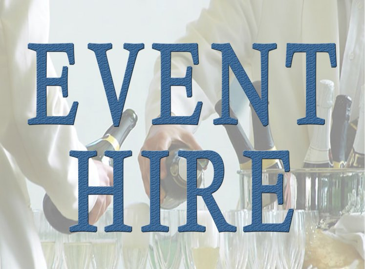 Event/Function Hire - Click Image to Close
